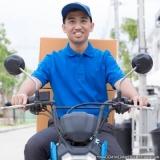motoboy que faz entrega Tucuruvi