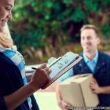 entrega de encomendas nacionais